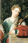 1510 Tullia de Aragona portrayed Moretto 250