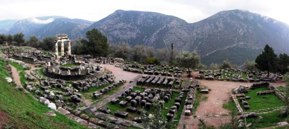 ANTIKE Athina_Pronaia_Sanctuary_at_Delphi