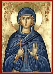 Saint Eudokia of Heliopolis 240